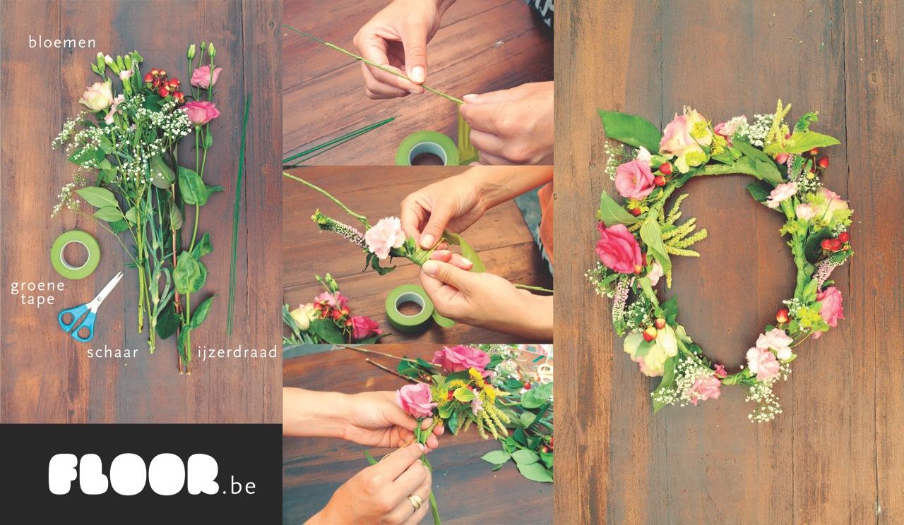 Hoe maak je zelf een bloemenkrans floor - Hoe je een centrum eiland keuken te maken ...