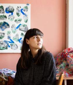 Op bezoek bij textielontwerpster Fanny Vanmansart
