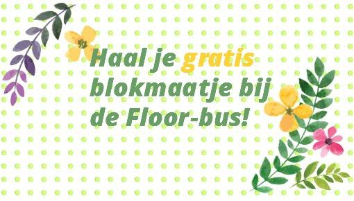 Floor deelt blokmaatjes uit